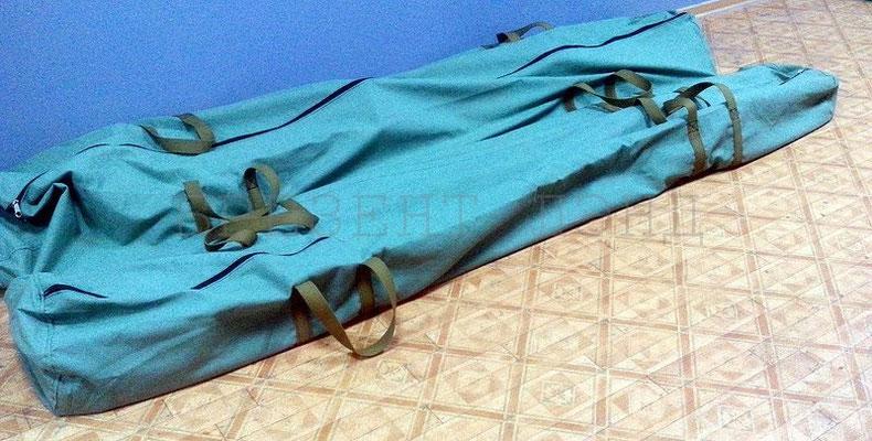 Брезентовые сумки для металл.конструкций шатра-палатки (ручки - брезентовые ленты)