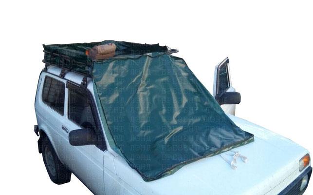 Чехол-сумка для вещей на багажник автомобиля