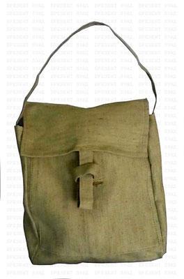 Брезентовая сумка с огнестойкой пропиткой для переноски взрывоопасных веществ