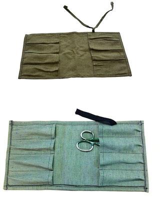 Брезентовая сумка-скрутка для инструментов