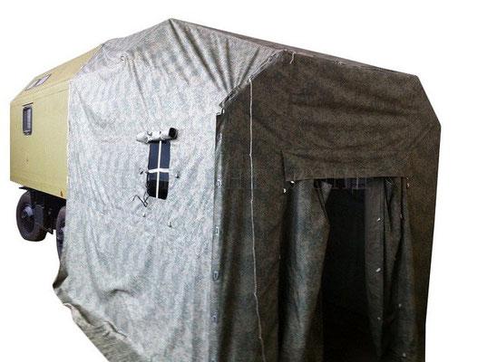 Тент-тамбур (палатка камуфлированная) для военной полевой кухни