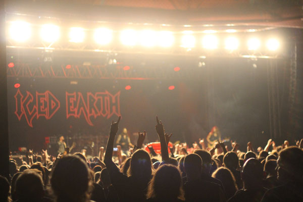 Iced Earth, live in Oberhausen, 2 December 2016.