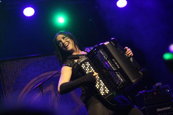 Ensiferum, live in Oberhausen, 2 December 2016.