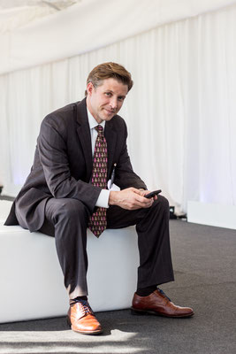 Alec Ross, US-American technology expert and former advisor to Hillary Clinton. St. Gallen, May 2017