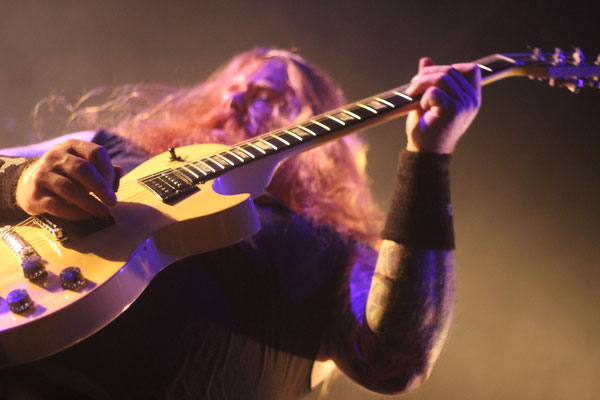 Skeletonwitch, live in Cologne, 6 December 2016.