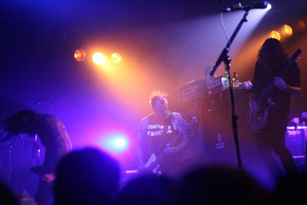 Kvelertak, live in Cologne, 6 December 2016.