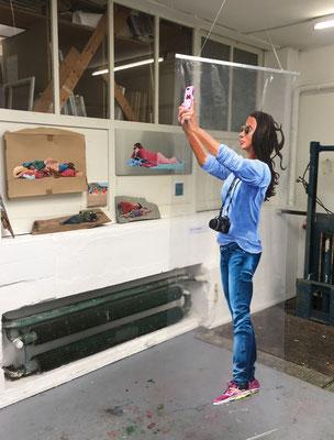 Ausstellungssituation, Installation Juni 2018