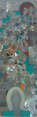 Triptychon b, 45x145 cm