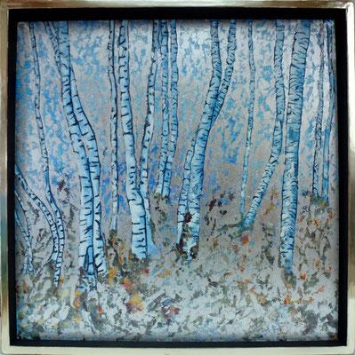 Vorfrühling, 65 x 65 cm