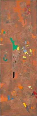 Paravent Teil 4, 45x145 cm