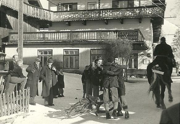 Hotel Mitteregger damals