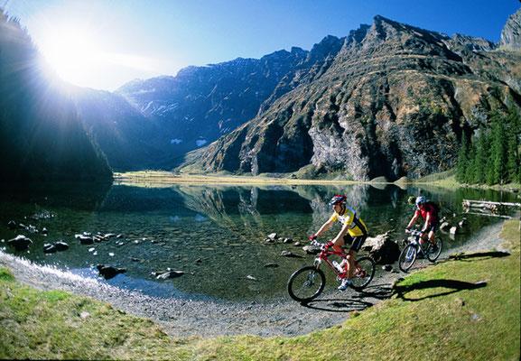 Radwege am Zeller See