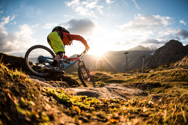 Mountainbiken in Zell am See / Kaprun