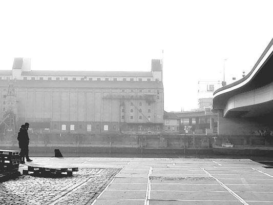 Harbour scene - Mannheim