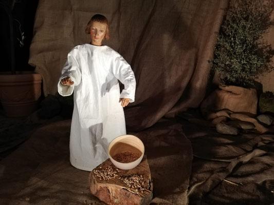 5. Fastensonntag: Jesus und der Vergleich mit den Weizenkörnern