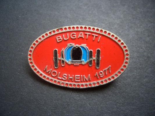 BUGATTI Molsheim 1977 Brosche