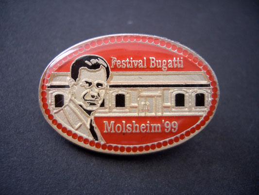 Festival BUGATTI Molsheim 1999 Brosche