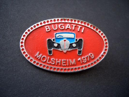 BUGATTI Molsheim 1979 Brosche