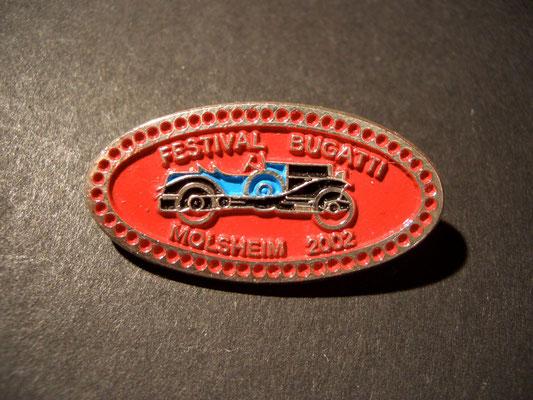 Festival BUGATTI Molsheim 2002 Brosche