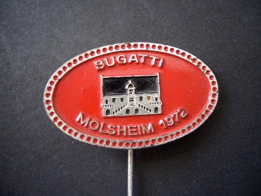 BUGATTI Molsheim 1972 Anstecknadel