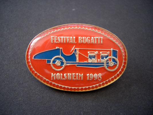 Festival BUGATTI Molsheim 1998 Brosche