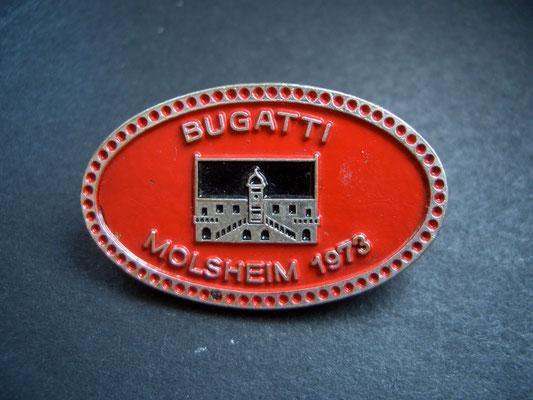 BUGATTI Molsheim 1973 Brosche