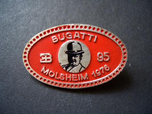 BUGATTI Molsheim 1976 Brosche