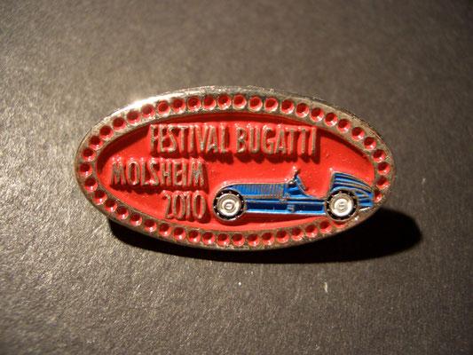Festival BUGATTI Molsheim 19 Brosche