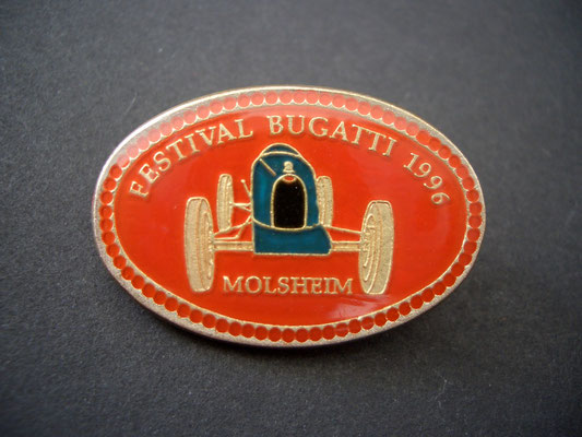 Festival BUGATTI Molsheim 1996 Brosche