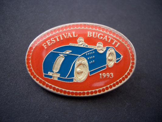 Festival BUGATTI Molsheim 1993 Brosche