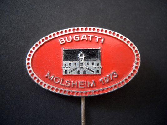 BUGATTI Molsheim 1973 Anstecknadel