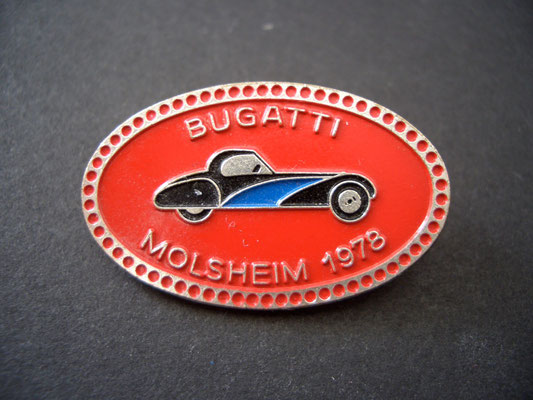 BUGATTI Molsheim 1978 Brosche
