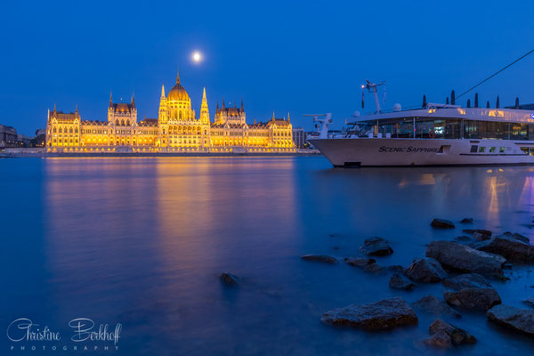 Danube and Parliament Building