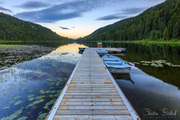 Hallamore Lake, British Columbia
