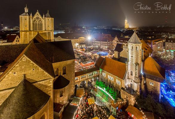 Weihnachtsmarkt auf dem Burgplatz