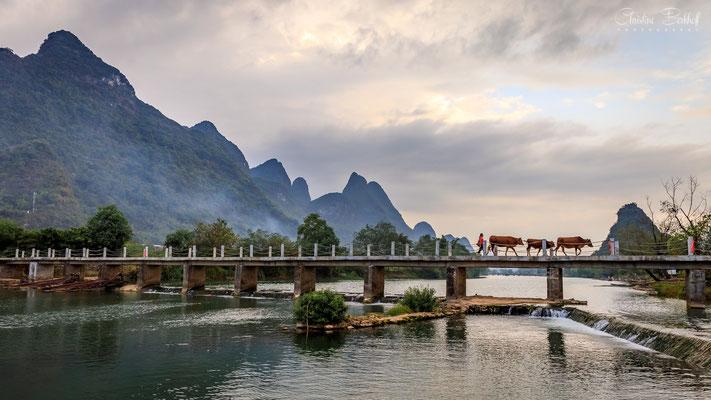 Landleben nahe Guilin