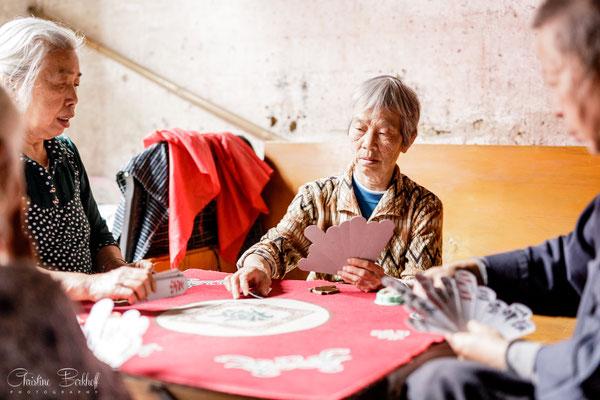 Alltagsleben in Xingping