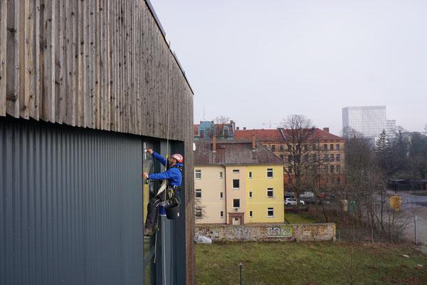 Fensterreinigung Indstriekletterer Berlin