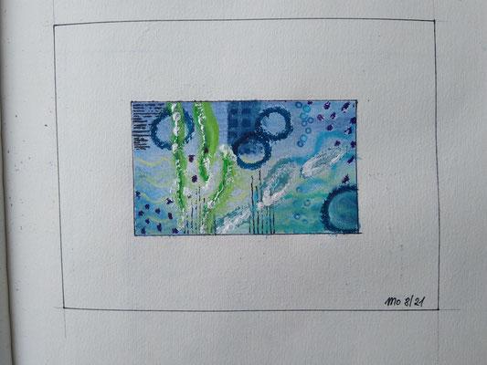 Blaue Serie Wasserwelten 3