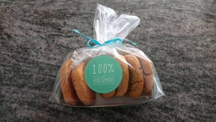 Erdnusscookies 2/3