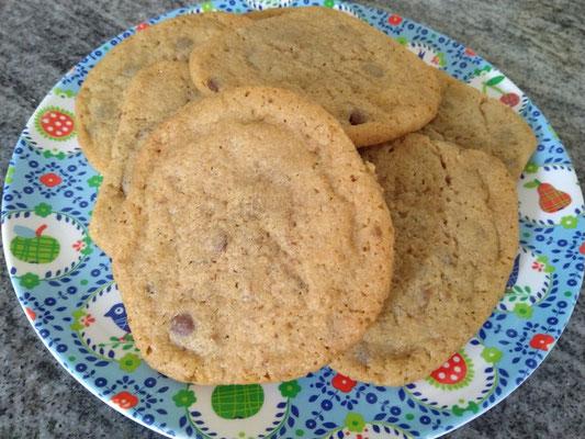 Cookies mit Lotus Biscoff Karamell Creme