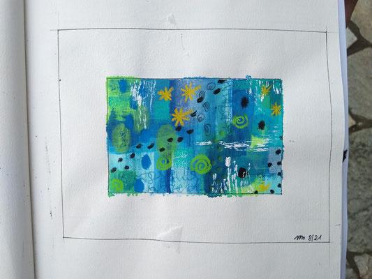 Blaue Serie Wasserwelten 1
