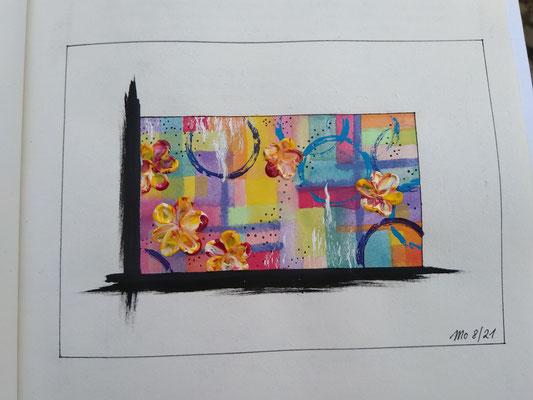 Weisse Serie 3 Flowergarden