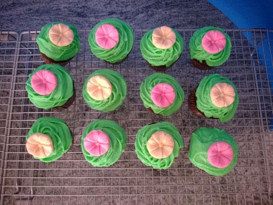 Schokocupcakes mit Buttercreme