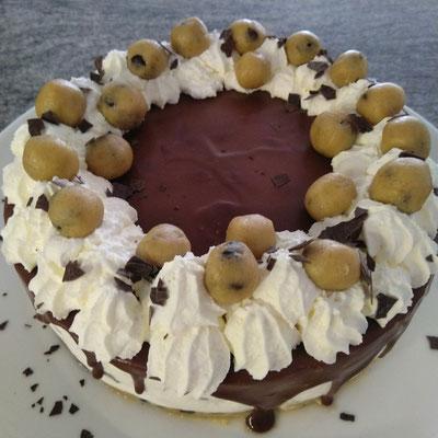 No bake Cookie Dough Cheesecake 1/2