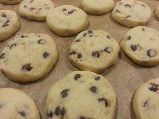 Chokolate Chip Cookies 1/2