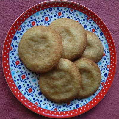 Zucker-Zimt Cookies