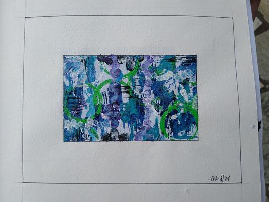 Blaue Serie Wasserwelten 2