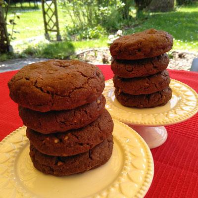 Riesen Double Chokolate Chip Cookies 1/2