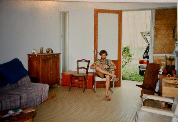 1989, après FIRINGA - appartement au collège Marcel Goulette Piton St Leu